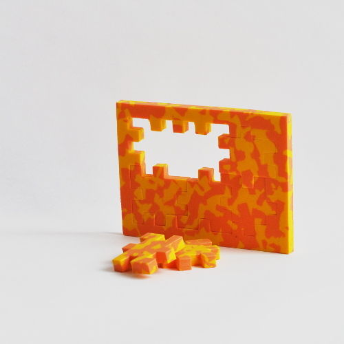 "3D Puzzle by ""Happy Cubes"""